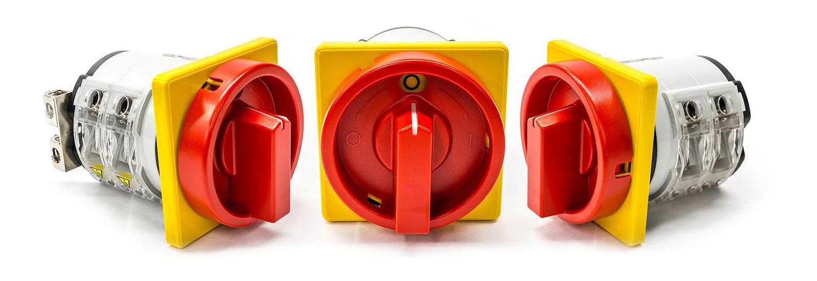 Multivac emergency stop switch