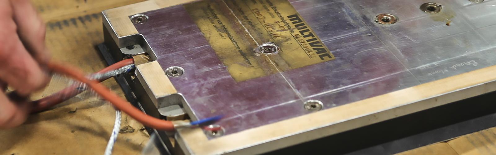 Multivac Intertech heater repair