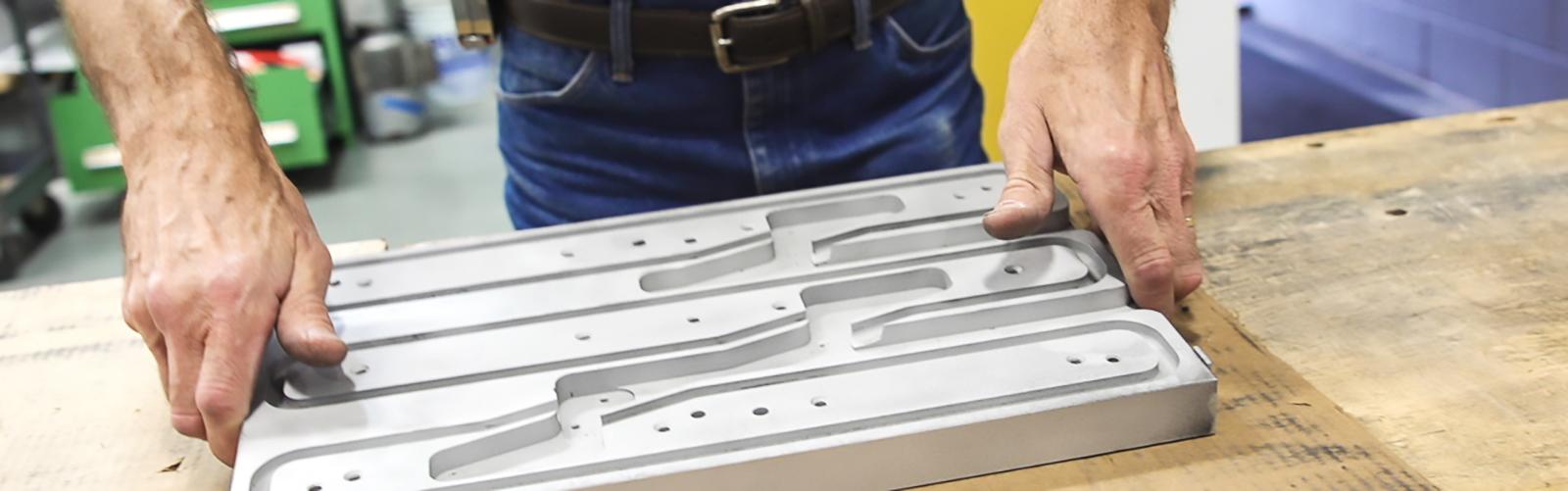 Multivac heater fabrication